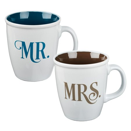 Mug Set 2 Piece MR and Mrs (Other)