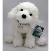 Zingo Bichon Frise 14 inch - Stuffed Animal by Toys & Co. (564TC)