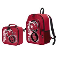 "Oklahoma Sooners ""Accelerator"" Backpack and Lunch Kit Set"