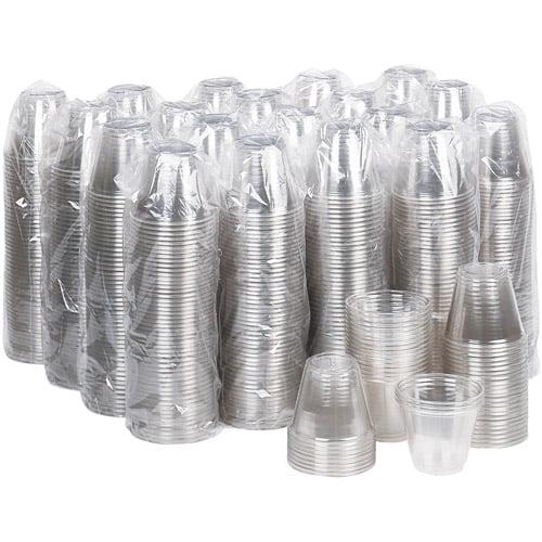 Dixie Plastic Cold PETE Cups, 9 oz, 50 count, 20 pack
