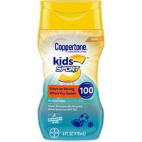 Coppertone Kids Sport Sunscreen SPF 100 Lotion, 4 fl oz