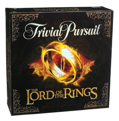 Milton Bradley Trivial Pursuit: The Lord of the Rings Movie Trilogy Collector's Edition by