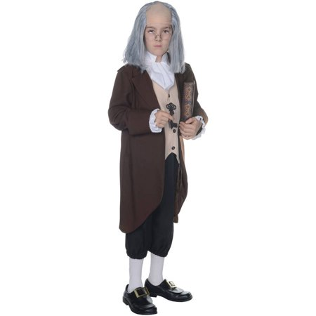Ben Franklin Boys Child Halloween (Ben Franklin Costume Kit)