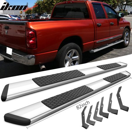 - Fits 02-08 Dodge Ram Crew Cab 82inch OE Style Side Step Bar Running Board Chrome