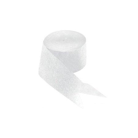 White Paper Streamers 81ft (Fun Streamer Kit)