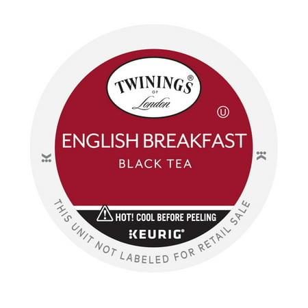 Twinings of London English Breakfast Tea, K-Cup Portion Pack for Keurig Brewers (96 Count) ()