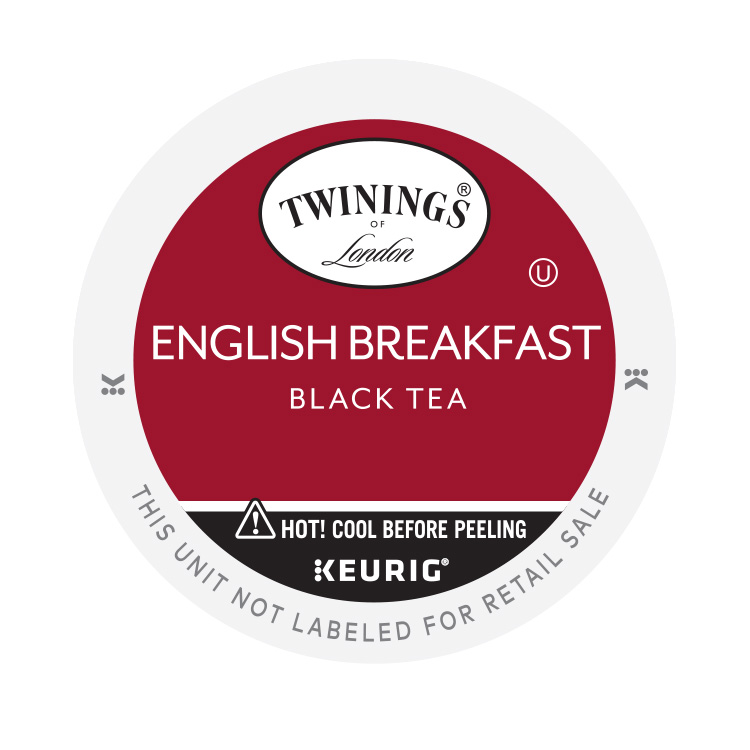 Twinings of London English Breakfast Tea, K-Cup Portion Pack for Keurig Brewers (96 Count)