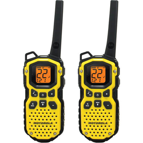 Motorola MS350R - 35 Mile Range Talkabout 2-Way Radios, PAIR