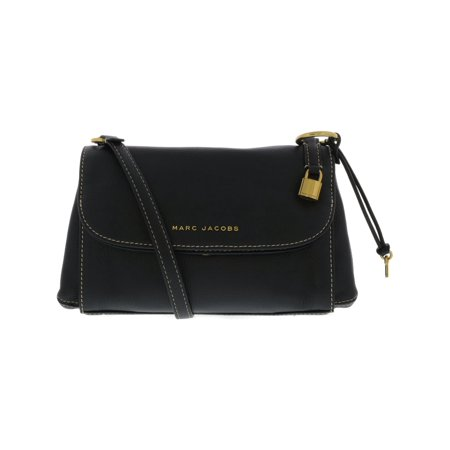 Marc Jacobs Louis Vuitton Handbags (Marc Jacobs Women's Boho Grind Leather Shoulder Bag - Black /)