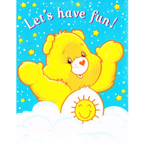 Care Bears Rainbow Invitations w/ Env. (8ct)