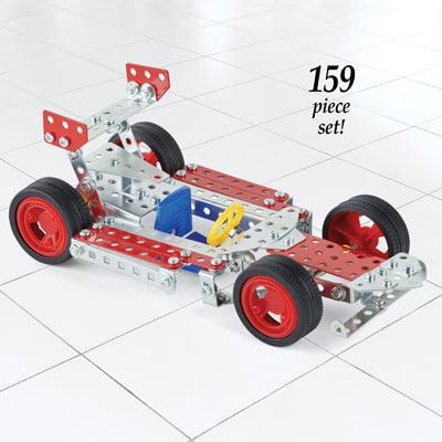 Build Your Car >> Boys Build Your Own Racing Car Kit 159 Pcs Walmart Com
