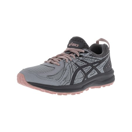 Women's Frequent Trail Mid Grey / Carbon Ankle-High Running Shoe - (Salomon Speedcross 3 Womens Trail Running Shoes)