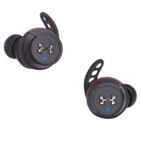 JBL Under Armour True Wireless Flash Waterproof Headphones (Black)