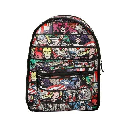 Heroes Panel Reversible Backpack](Super Heroes Backpack)