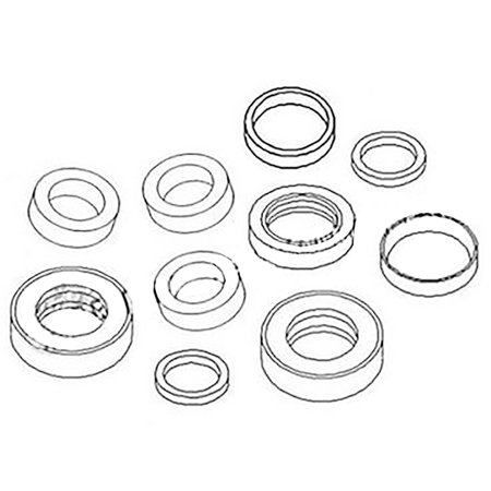 AA33072 New Disc Mower Seal Kit For John Deere 215 315 1630 1635 1640 327  337 +