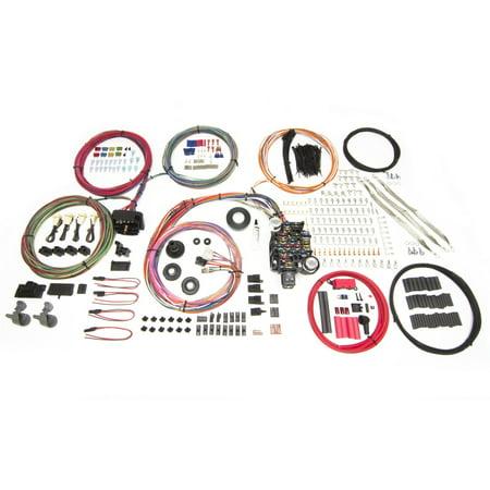 Painless Performance Wiring (Painless Performance 10415 PAN10415 25 CIRCUIT HARNESS PRO-SERIES TRUCK GM KEYED COLUMN BULKHEAD)