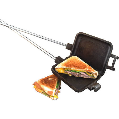 Camp Chef Pre-Seasoned Cast Iron Single Square Cooking Iron