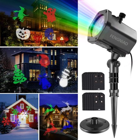 Led christmas light projector lanyi led projector light show with led christmas light projector lanyi led projector light show with 12 switchable patterns waterproof mozeypictures Gallery