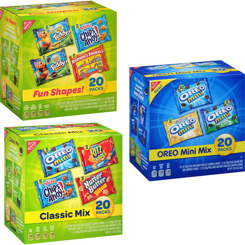 Nabisco Classic Mix Cookie/Cracker Variety Pack Your Choice Value Bundle Pick 3/$15