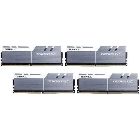 G SKILL 32GB (4 x 8GB) TridentZ Series DDR4 PC4-28800 3600MHz for Intel  Z170 / Z270 / Z370 / X299 Desktop Memory Model F4-3600C16Q-32GTZSW