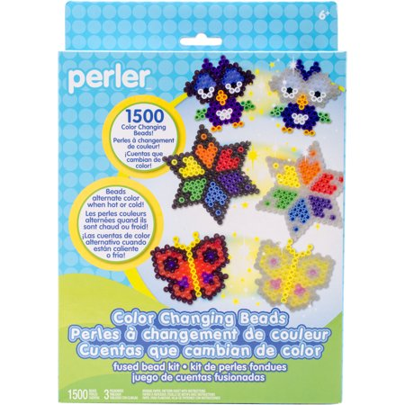 Perler Fused Bead Kit, Color Changing Beads