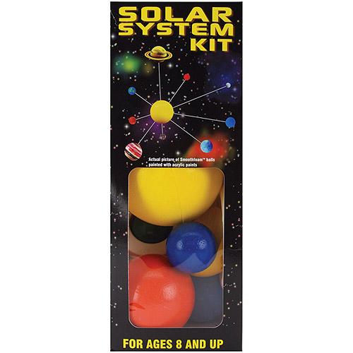 Styrofoam Solar System Kit, Painted