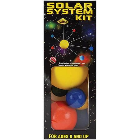 Styrofoam Solar System Kit  Painted