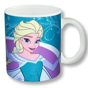 Disney Frozen Elsa Ceramic Mug- Blue