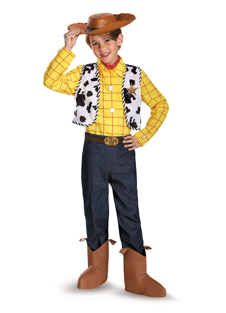 Child Boy Toy Story Woody Prestige Costume by Disguise 67915, 7 to 8 by Disguise