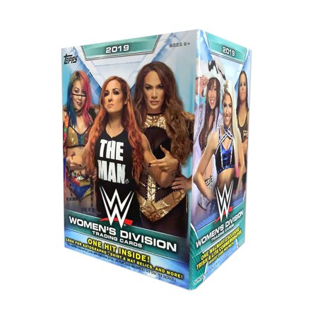 19 Topps Cards: WWE Womens Division Value Box + Look For Autographs + Shirt & Mat Relics Classic Toys Trading Cards