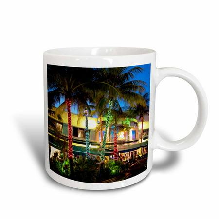 3dRose Ocean Drive, South Beach, Miami Beach, Florida - US10 GJO0300 - Greg Johnston, Ceramic Mug, 11-ounce](Miami Beach Halloween Party 2017)