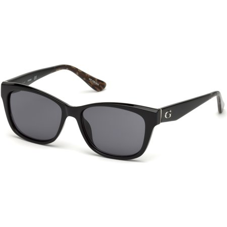 Sunglasses Guess GU 7538 01A shiny black / smoke (Schwarz Guess)
