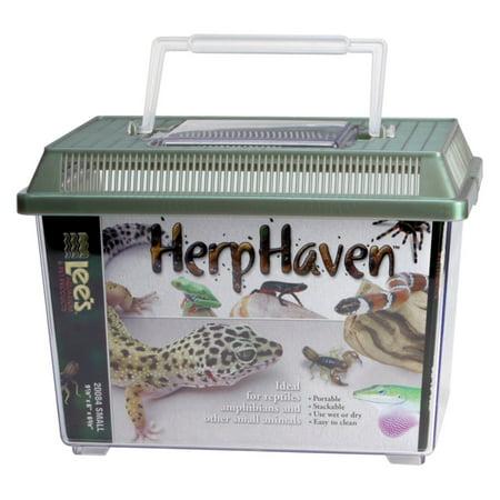 Large Cartier Tank (Lee's Aquarium HerpHaven Rectangle Reptile Carrier )