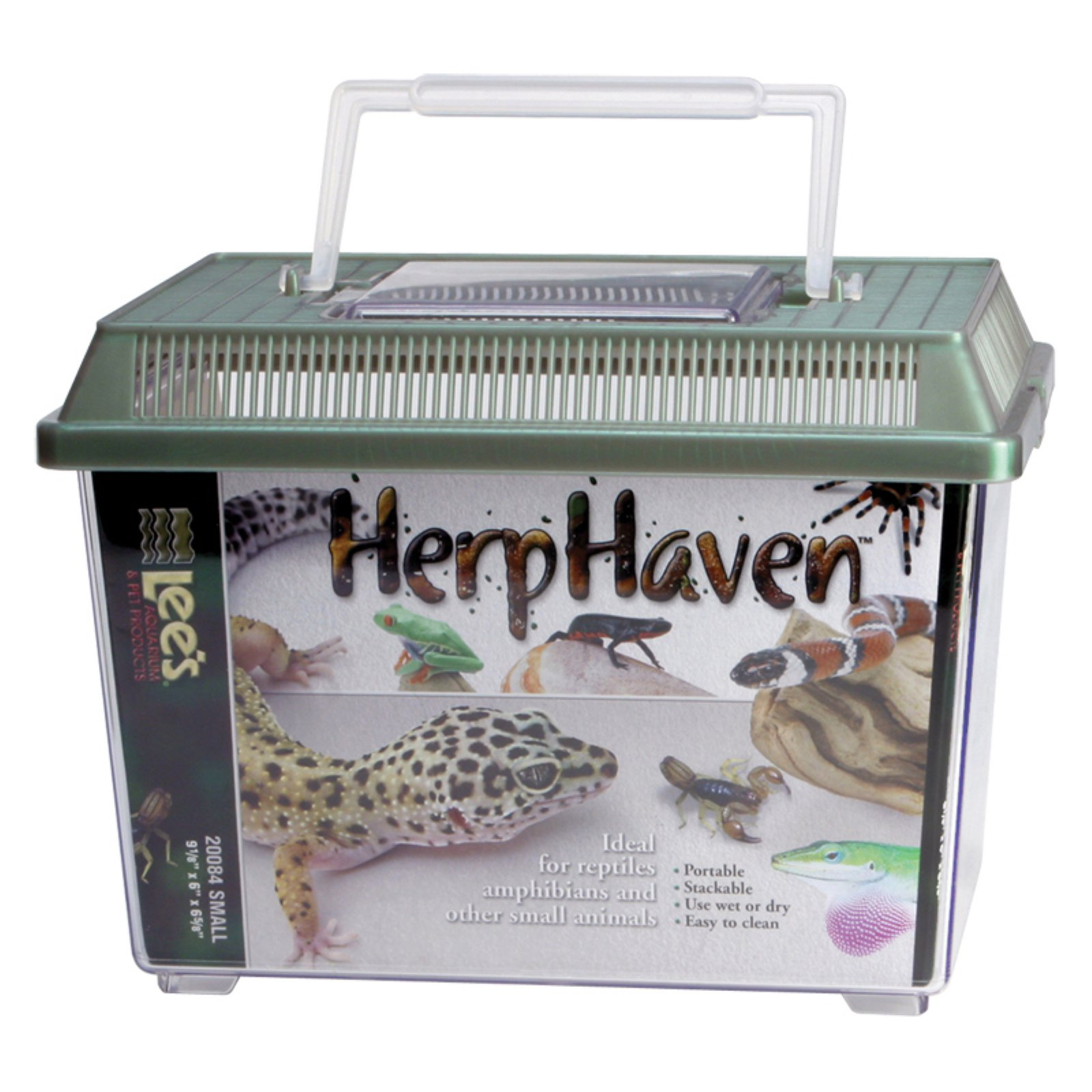 Lee's Aquarium HerpHaven Rectangle Reptile Carrier