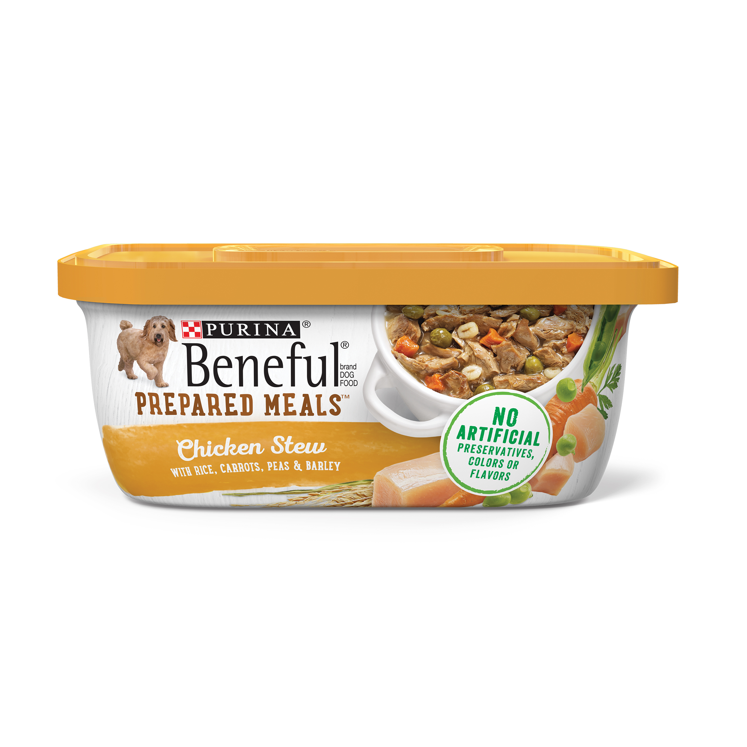 Purina Beneful Prepared Meals Chicken Stew Adult Wet Dog Food - 10 oz. Tub
