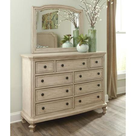 Tropical Island Dresser Mirror - Signature Design by Ashley Demarlos 9 Drawer Dresser with Optional Mirror