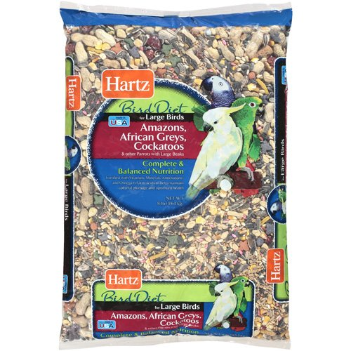 Hartz: Large Bird Diet Food, 8 Lb