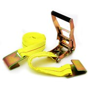 """2"""" x 20' Tow Strap, with Ratchet Tie and Flat Hook"""