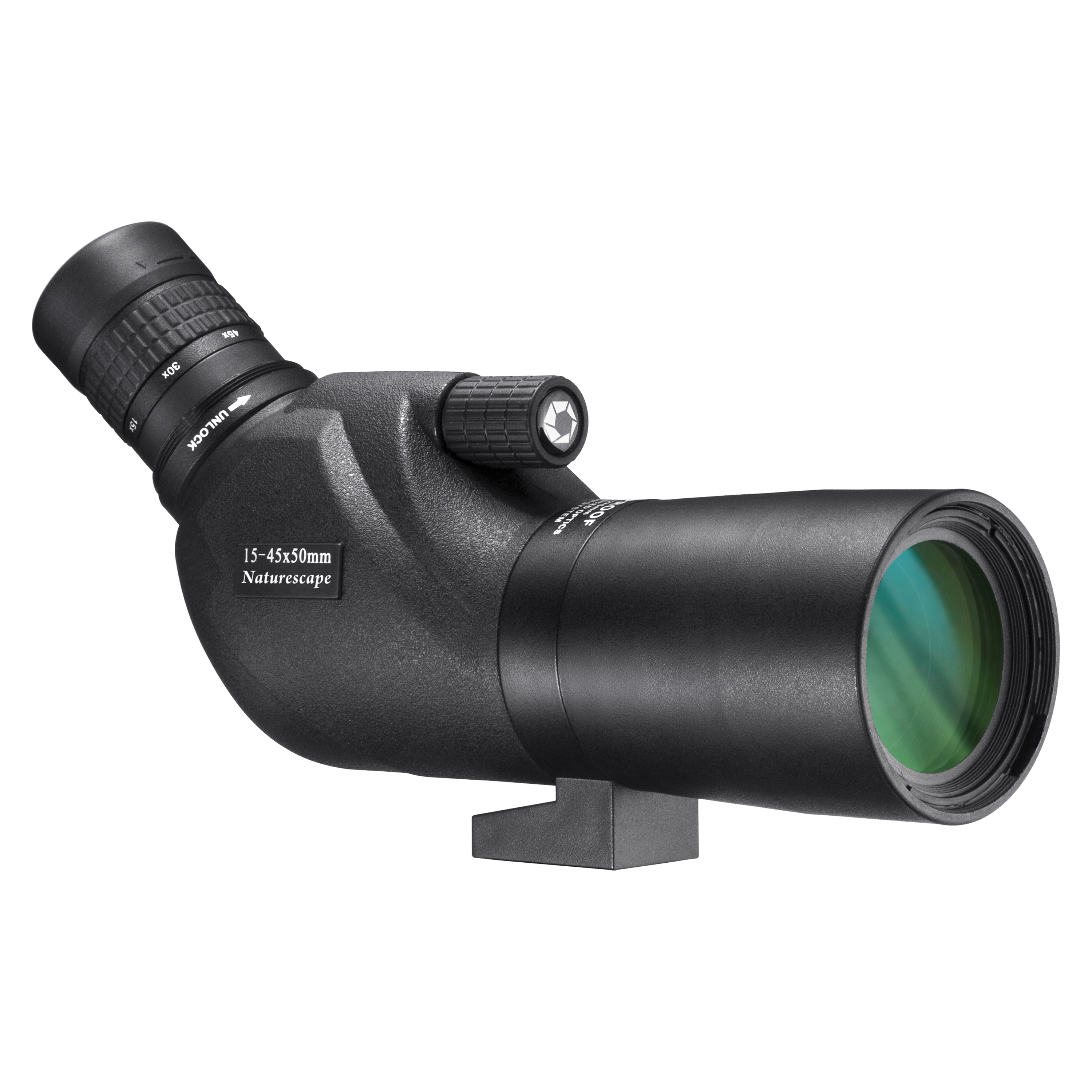 Barska Optics WP Naturescape Spotting Scope Angled with Tripod and Soft Carrying Case, 20-60x80mm, Black
