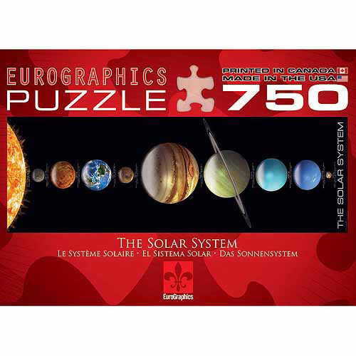 "EuroGraphics Solar System Jigsaw Puzzle ""Panorama"" 750-Piece Puzzle"