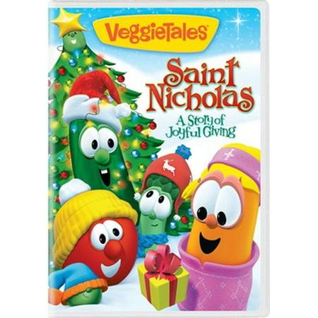 Veggie Tales: St. Nicholas, A Story of Joyful Giving (DVD) - Tales Of Halloween Review