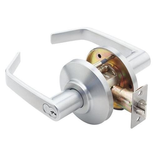 BEST 7KC37R15DSTK626 Lght Duty Lvr Lockset, Contour Angle Lvr