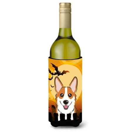 Best Red Wine For Halloween (Halloween Red Corgi Wine Bottle Beverage Insulator Hugger)