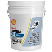 Shell Rotella T4 Triple Protection 15W-40 Diesel Engine Oil 5Gal