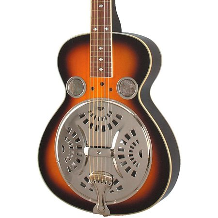 - Rogue Classic Spider Resonator Sunburst Squareneck