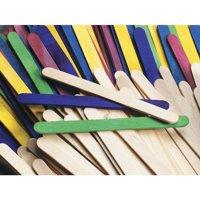 Chenile Kraft 085957 Wood Premium Non-Toxic Craft Stick, 4.5 x 0.37 x 0.5 In. - Natural, Pack 1000