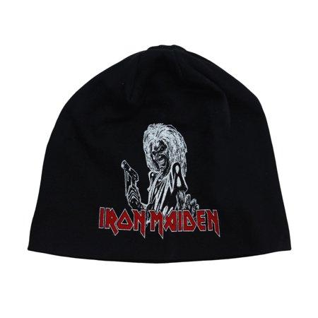 Iron Maiden Killers Band Album Logo Beanie Hat Eddie The Head Heavy Metal Fan](Cousin Eddie Hat)