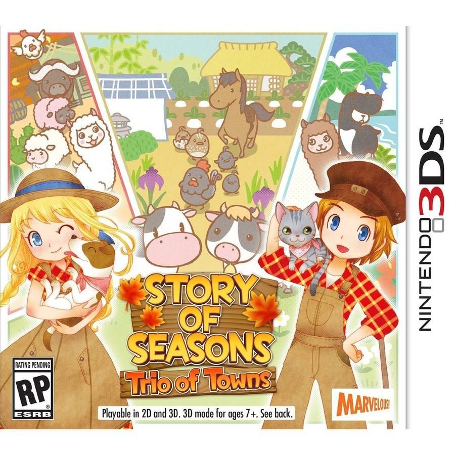Story Of Seasons Trio (Nintendo 3DS)