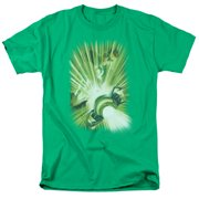 Green Lantern Lantern's Light Mens Short Sleeve Shirt