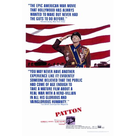 Patton (1970) 27x40 Movie Poster